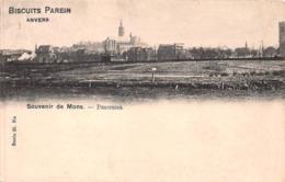 Souvenir De Mons - Panorama - Biscuits Parein - Mons