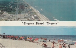Virginia Beach VA Postcard 1959 - Virginia Beach