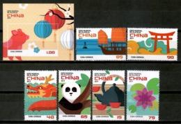 Cuba 2019 / World Philatelic Exhibition China MNH Exposición Mundial De Filatelia / Cu14913  C4-10 - Exposiciones Filatélicas
