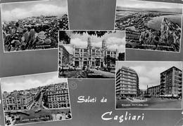 Cartolina Cagliari Vedute 1960 Timbro Non Sorpassate In Curva Segnata - Cagliari