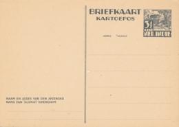 Nederlands Indië - 1937 - 3,5 Cent Karbouwen, Briefkaart G63 - Ongebruikt - Nederlands-Indië