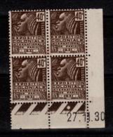 Coin Daté - YV 271 N** Exposition Coloniale Du 27.11.30 - Coins Datés