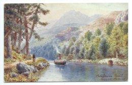 Caledonian Canal, Laggan Avenue - Tuck Oilette 7687 - H.B. Wimbush - Scotland