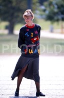 C 1990 SEXY FEMME GIRL MODEL FASHION MODELO MODA LISBOA PORTUGAL 35mm DIAPOSITIVE SLIDE NO PHOTO FOTO B4901 - Dias