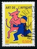 "FRANKREICH  Mi.Nr. 3694 EUROPA CEPT ""Plakatkunst"" 2003- Used - 2003"