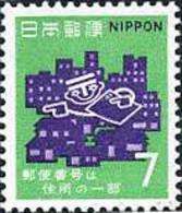 Ref. 362526 * NEW *  - JAPAN . 1970. POST CODE. CODIFICACION POSTAL - 1926-89 Emperador Hirohito (Era Showa)
