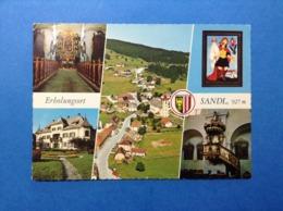 CARTOLINA FORMATO GRANDE VIAGGIATA NEL 1986 AUSTRIA OSTERREICH ERBOLUNGSORT SANDL - Altri