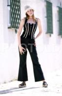 C 1990 SEXY FEMME GIRL MODEL FASHION MODELO MODA LISBOA PORTUGAL 35mm DIAPOSITIVE SLIDE NO PHOTO FOTO B4903 - Dias