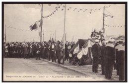 Inauguration Du Monument Aux Vivtimes Du PLUVIOSE ( Sous Marin)  22 Juin 1913 - Calais