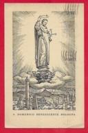 CARTOLINA VG ITALIA - S. DOMENICO Benedicente Bologna - 9 X 14 - 1946 - Santi