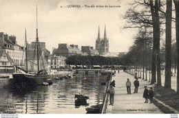 D29  QUIMPER  Vue Des Allées De Locmaria  ..... - Quimper