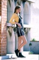 C 1990 SEXY FEMME GIRL MODEL FASHION MODELO MODA LISBOA PORTUGAL 35mm DIAPOSITIVE SLIDE NO PHOTO FOTO B4906 - Dias