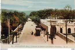 D64   HENDAYE  L'Avenue Des Palmiers Et Les Galeries ESKUALDUNA  ..... - Hendaye