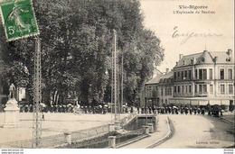 D65  VIC- BIGORRE  L' Esplanade Du Sendrex  ..... - Vic Sur Bigorre