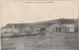 76 Oherville. Battage De Trêffle - France