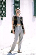 C 1990 SEXY FEMME GIRL MODEL FASHION MODELO MODA LISBOA PORTUGAL 35mm DIAPOSITIVE SLIDE NO PHOTO FOTO B4908 - Dias