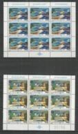 9x YUGOSLAVIA - MNH - Europa-CEPT - Architecture - 1987 - 1987