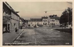 HOLLABRUNN AUSTRIA ~ ADOLF HITLERPLATZ 1940 PHOTO POSTCARD 42278 - Hollabrunn