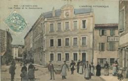 LE CHEYLARD LES POSTES ET LA GENDARMERIE EDITION ARTIGE COLORISEE - Le Cheylard