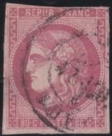 France       .    Yvert    .   49  (2 Scans)  .  Aminci    .       O      .      Oblitéré - 1870 Ausgabe Bordeaux