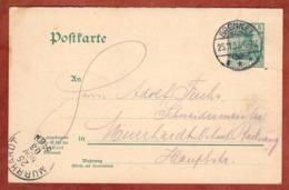 P 67 Germania Frageteil, Brennet Nach Murrhardt 1903 (81602) - Germania