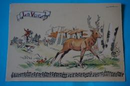 CPSM Illustrateur JACK PARTITION MUSIQUE Sonneries Trompes CHASSE A COURRE CHEVAL CHIENS CERF RARE La Vue 1950/1960 - Autres Illustrateurs