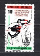 GABON  PA N° 238  OBLITERE  COTE 0.70€    JEUX OLYMPIQUES MOSCOU - Gabun (1960-...)
