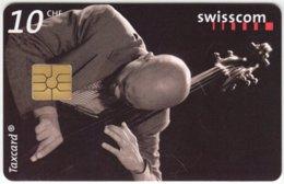 SWITZERLAND C-232 Chip Swisscom - Musician, Jazz - Used - Suisse