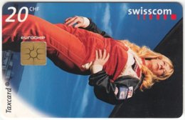 SWITZERLAND C-239 Chip Swisscom - Sport, Motor Race - Used - Suisse