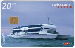 SWITZERLAND C-247 Chip Swisscom - Exhibition, EXPO - Used - Suisse