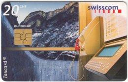 SWITZERLAND C-250 Chip Swisscom - Communication, Phone Booth - Used - Suisse