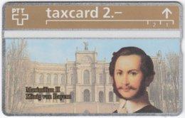SWITZERLAND C-333 Hologram PTT - Ruler, Maximilian II., King Of Bavaria - 325L - MINT - Suisse