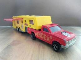 Pinder - Camping Car - Majorette - Oud Speelgoed