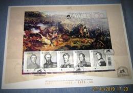 FDS Van 2015 Waterloo 4532/36 (o) 200e Verjaardag V/d Slag Bij Waterloo - FDC