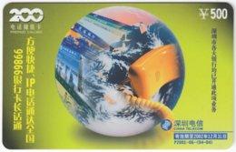 CHINA D-353 Prepaid ChinaTelecom - Communication, Telephone - Used - Chine