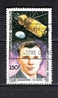 GABON  PA N° 245  OBLITERE  COTE 1.70€    ESPACE GAGARINE - Gabun (1960-...)