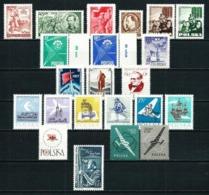 Polonia (13 Series Año 1951-1958) Nuevo - Colecciones
