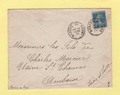 Convoyeur - Mamers Au Mans - 1924 - Marcophilie (Lettres)