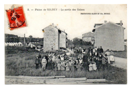 Golbey La Sortie Des Usines - Golbey