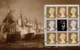 Great Britain - 2005 - 200th Anniversary Of Trafalgar Battle - Mint Souvenir Sheet No. 2 From Prestige Booklet - 1952-.... (Elizabeth II)