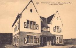België West-Vlaanderen DE HAAN Institut Instituut   Marin Zeepreventorium  Klemskerke Villa Du Médicin Directeur   M 498 - De Haan