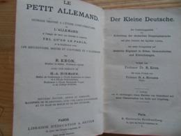 Der Kleine Deutsche Prof. Kron Le Petit Allemand Etude Complémentaire De L Allemand Tel Qu On Le Parle - Hatier - Livres, BD, Revues