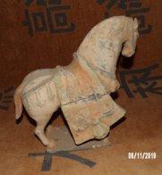 Cheval En Terre Cuite (Chine) - Arte Asiático