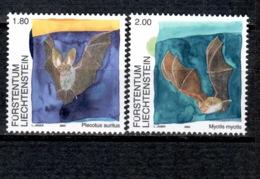 FL+ Liechtenstein 2005 Mi 1389-90 Mnh Fledermäuse - Liechtenstein