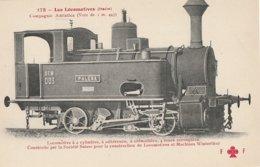 TRAINS  -  LES LOCOMOTIVES -  ITALIE - Compagnie Adriatica - Eisenbahnen