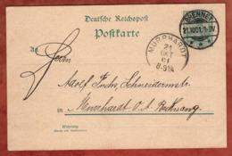 P 50 II Germania, Brennet Nach Murrhardt 1901 (81608) - Germania