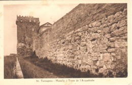 POSTAL   TARRAGONA  -CATALUNYA  -MURALLA I TORRE DE L'ARQUEBISBE (ARZOBISPO) - Tarragona