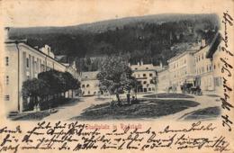 GRUSS Aus RADSTADT ~ STADTPLATZ- 1900 PHOTO POSTCARD 42281 - Radstadt