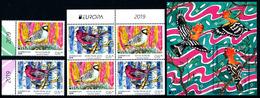 "AZERBAIJAN/AZERBAIDSCHAN EUROPA 2019 ""National Birds"" Set & Minisheet** - 2019"