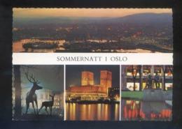Oslo. *Sommernatt I Oslo* Circulada Oslo 1971. - Noruega